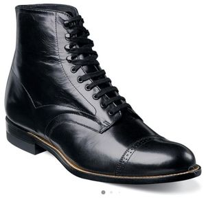 New Stacy Adams Madison Boots Black